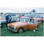 Liz and Peter have bought an Austin Healey Sprite